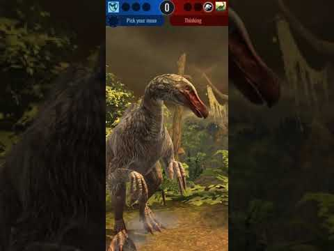 Jurassic World Alive - Arena 7 Unlocked (Friendly Battle) - YouTube