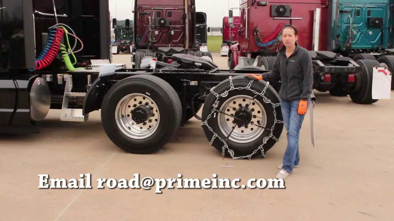 how to install tire chains on your rig youtube. Black Bedroom Furniture Sets. Home Design Ideas