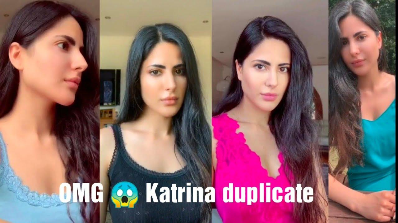 Katrina kaif duplicate    Tik tok videos    sharun shaikh ...