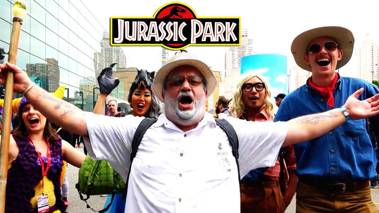 JURASSIC PARK Antics at Comic Con!!