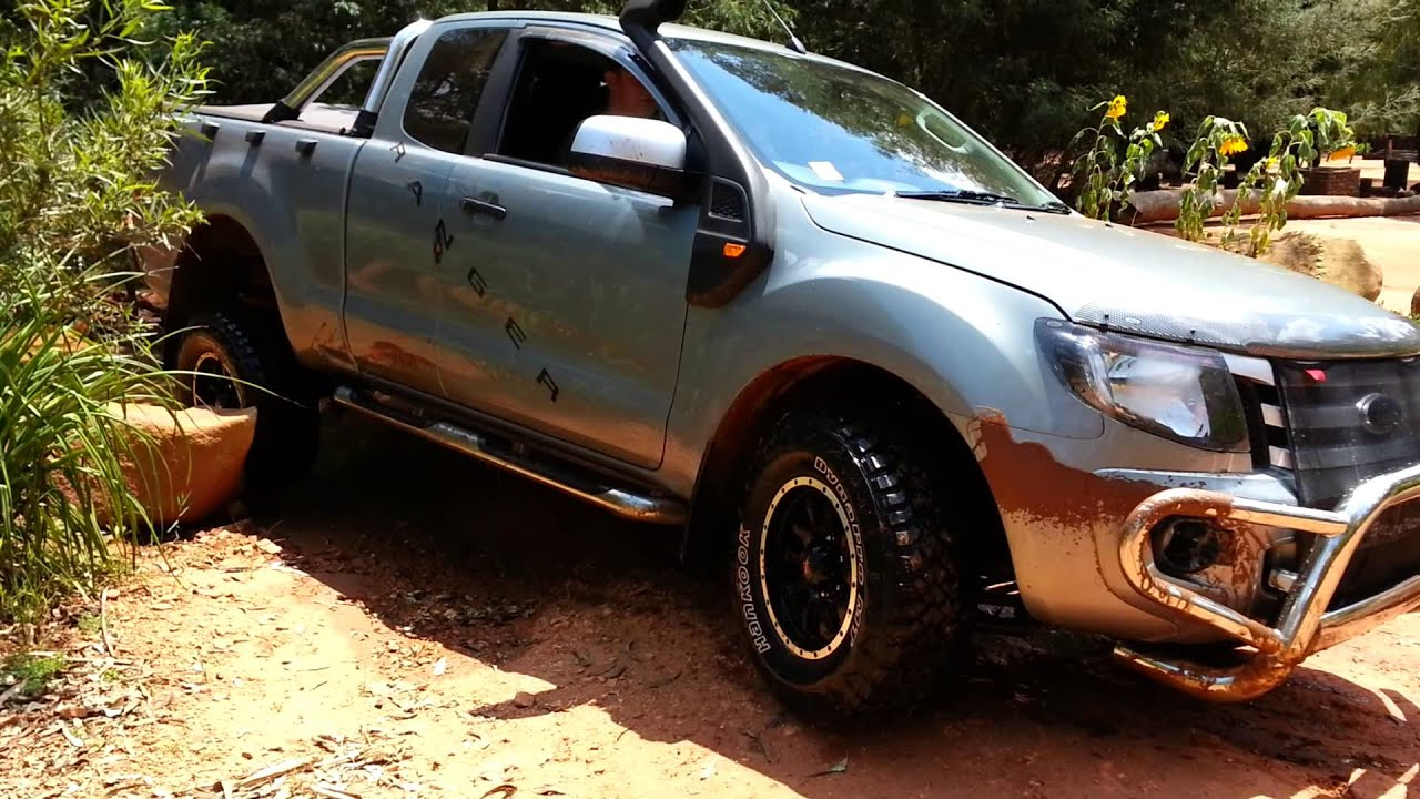 New ford ranger 4x4  YouTube