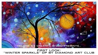 "FIRST LOOK: ""WINTER SPARKLE"" Diamond Art Club NEW RELEASE"