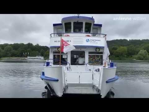 Ausflugsschiff MS Schwalbe fährt wieder auf der Ruhr und dem Kemnader See