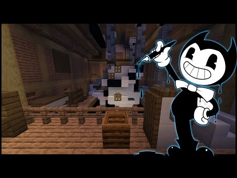 Minecraft Bendy And The Ink Machine - Chapter 1