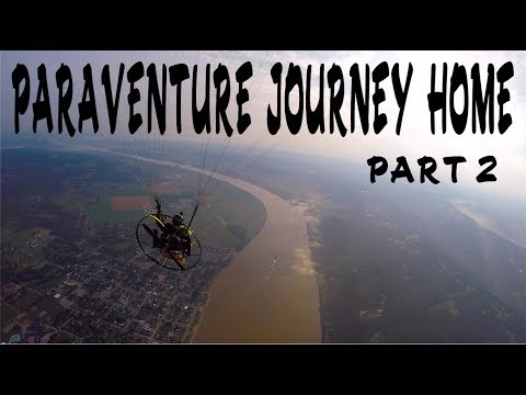 Paraventure To An Abandoned Racetrack!!! Part 2 The Journey home!