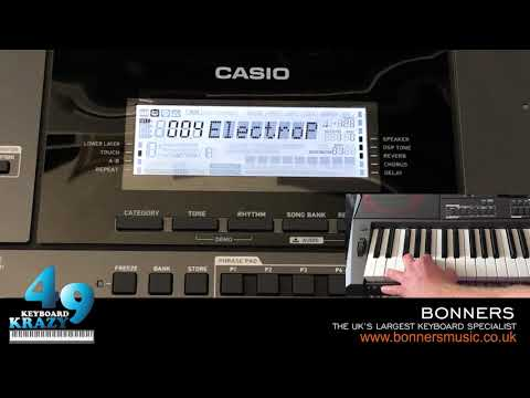 The New Casio CT-X5000 Keyboard Review - 235 Rhythm Styles Part 1/3