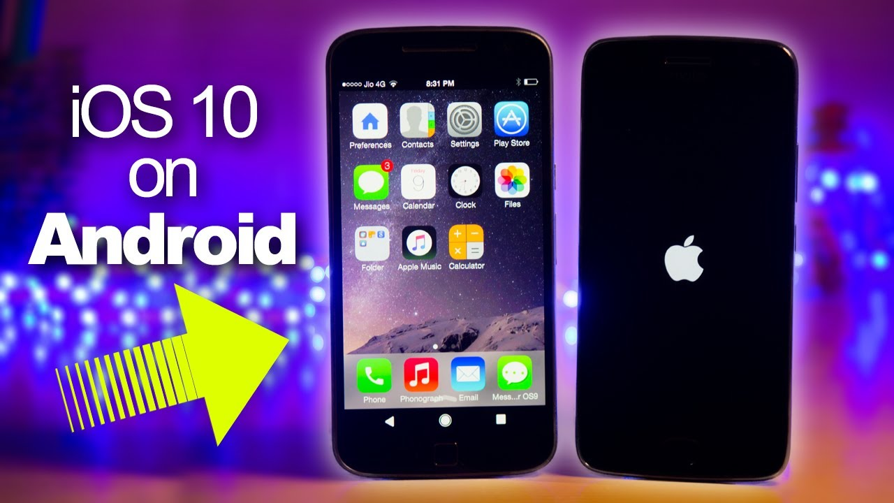 how to get ios on android phone