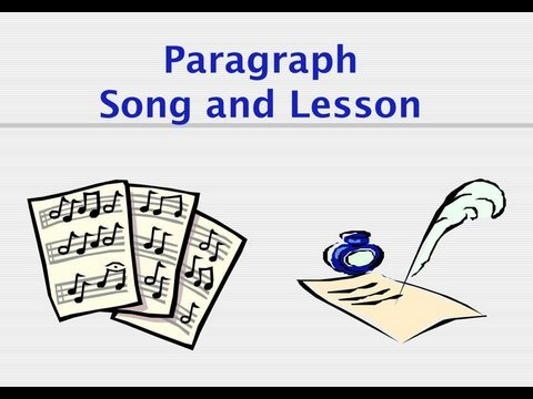 how to write a paragraph song