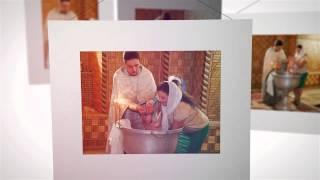 Крещение ребенка в Краснодаре слайдшоу ( красивое видео)(Крещение Владиславы Краснодар студия