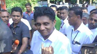 Sri Lanka: Premadasa votes in presidential election   AFP