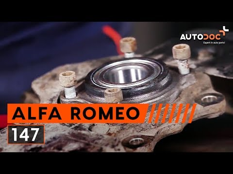 How to replace front wheel bearing on ALFA ROMEO 147 TUTORIAL | AUTODOC
