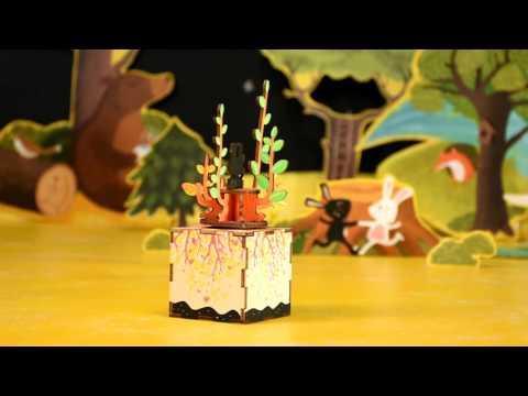 DIY Wooden Music Box - Spring