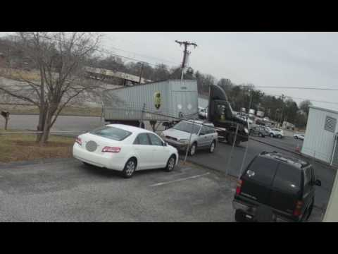UPS Driver Accident - Takes out overhead lines