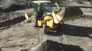 Video still for John Deere Hitachi Landscape Loader 210 LJ Customer Loader