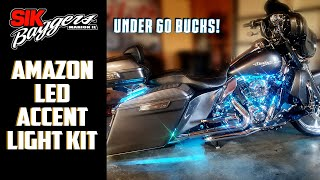 How To Install LED accent lights on Harley Davidson Touring Motorcycle
