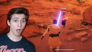 LIGHTSABER DUELING in 2020!!! Star Wars: Battlefront 2 GAMEPLAY! (1v1 Hero Showdown)