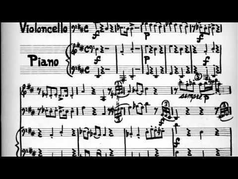 Trio – violin, 'cello, piano – Opus 2 –First Movement by Philip Calder, 1995 performance