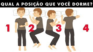 5 posições de dormir que revelam QUEM VOCÊ É