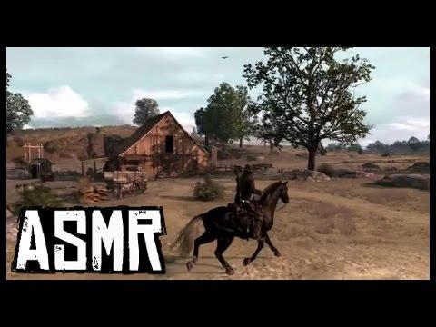 ASMR Red Dead Redemption | Riding across New Austin and West Elizabeth (soft-spoken)