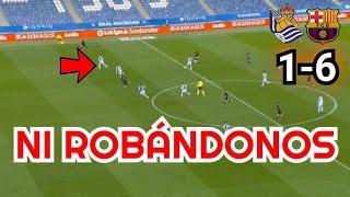 REAL SOCIEDAD VS BARCELONA 1-6 | RESUMEN Y ANÁLISIS DEL PARTIDO | LA LIGA 2021