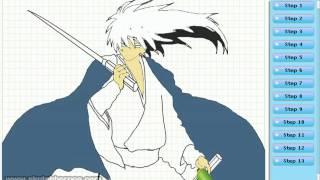 How to draw Rikuo Nura (Nurarihyon no Mago - ぬらりひょんの孫 )-- drawing tutorial video