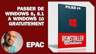Passer de Windows 8 a Windows 10