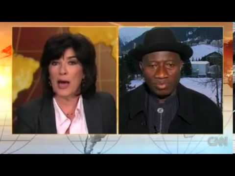 CNN Christiane Amanpour's Interview with Nigeria's President Goodluck Jonathan