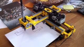 Lego 8094, la table traçante / plotter