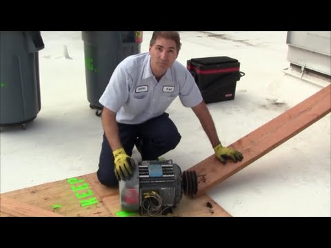 Replacing a 7 5HP Supply Fan Motor on an Air Handler