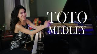 Toto Medley – Africa, Rosanna, 99, Hold the Line, Georgy Porgy – Piano Cover by Sangah Noona