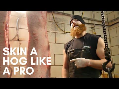 How To Skin A Pig Or How To Skin A Hog | By The Bearded Butchers!
