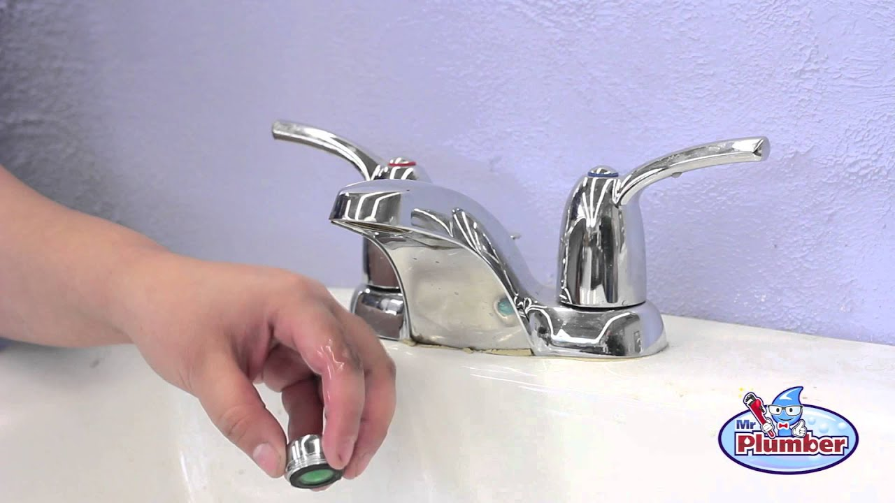 How to clean your sink aerator