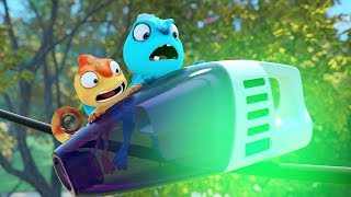 VACUUM #1 #2 #3 FULL EPISODE | Cam & Leon | Cartoon for Kids | Funny Cartoon