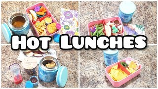 School Hot Lunch Ideas - week 12 - Bella Boo's Lunches - Blue Ele