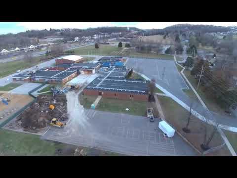 Geggie Elementary School construction (update 1)