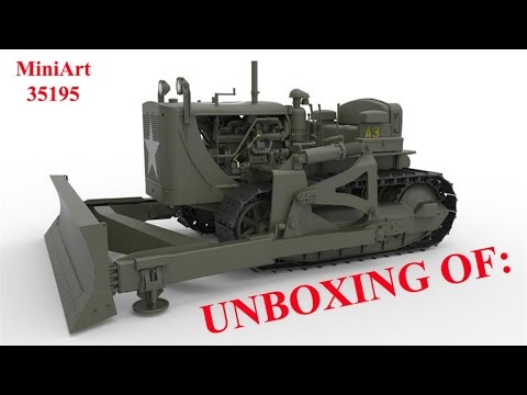 Unboxing Of: MiniArt #35195 US Army Bulldozer 1:35