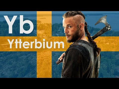 Ytterbium - A METAL THAT BROUGHT ME TO SWEDEN!