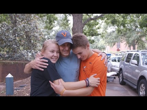 UVA  Move-In: The Journey Begins
