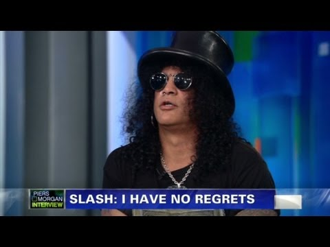 Slash on drugs and partying