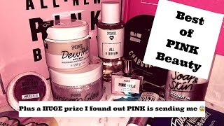 BEST of PINK BEAUTY   PLUS find out what HUGE prize I just found out PINK is sending me! 😱🤗