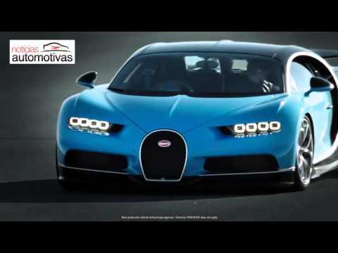 Bugatti Chiron - NoticiasAutomotivas.com.br