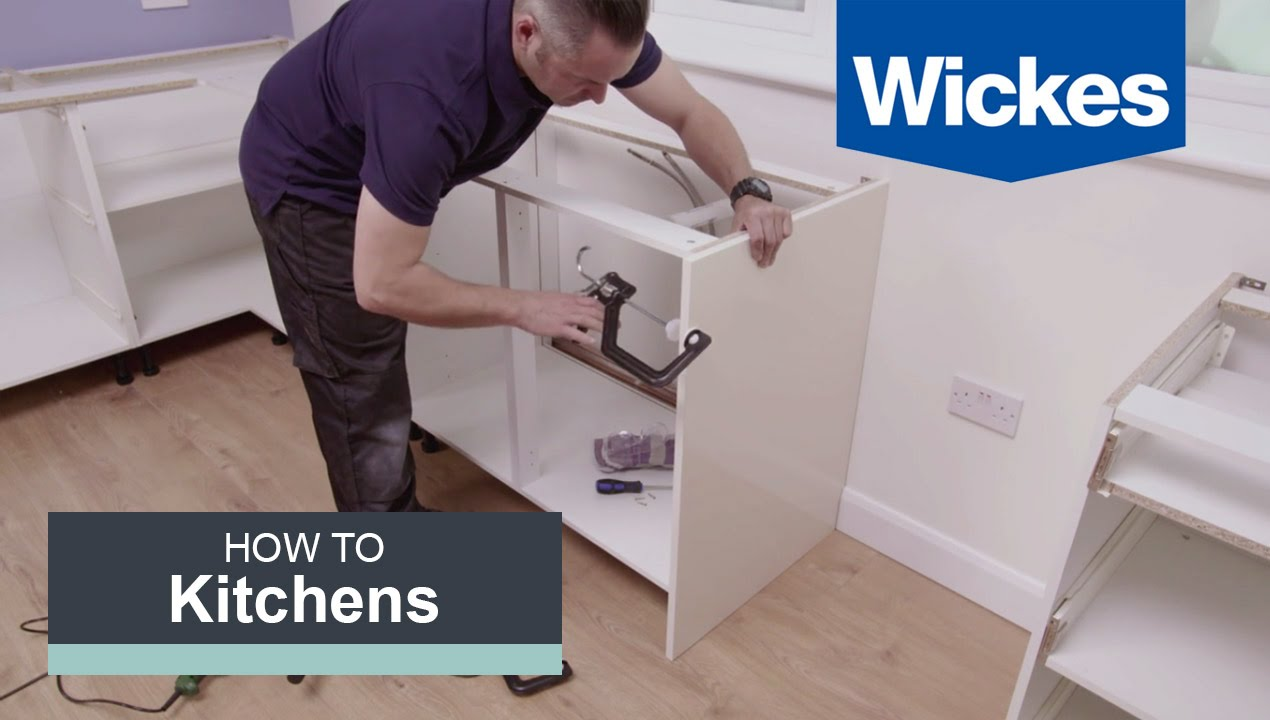 How To Install Base Cabinets With Wickes YouTube