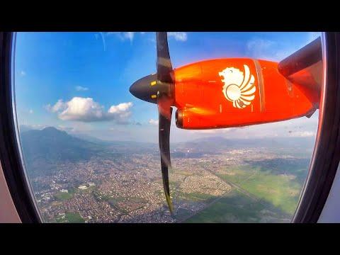 Wings Air ATR 72-600 SPECTACULAR LANDING in Bandung