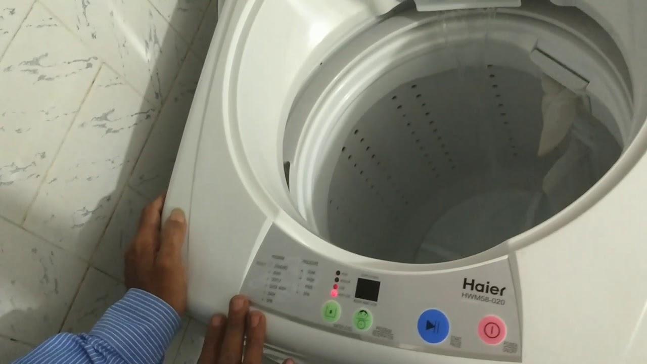 hight resolution of haier washing machine hwm58 020 usage instructions