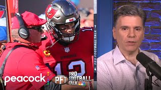 Mike florio and chris simms hand out their superlatives for week 14, including the buccaneers steering in right direction ahead of playoffs, haason r...