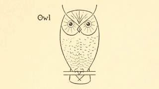 How to draw an owl!! ( By: E.G. Lutz)