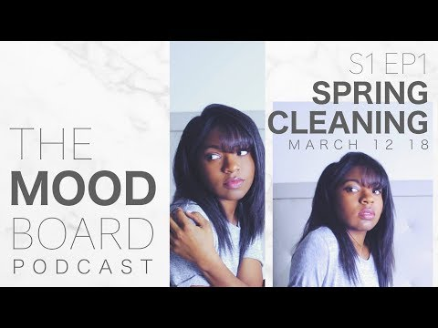 Spring Cleaning Playlist 🎵+ Terrace House talk / @laurentsai 📺 | THE MOOD BOARD podcast