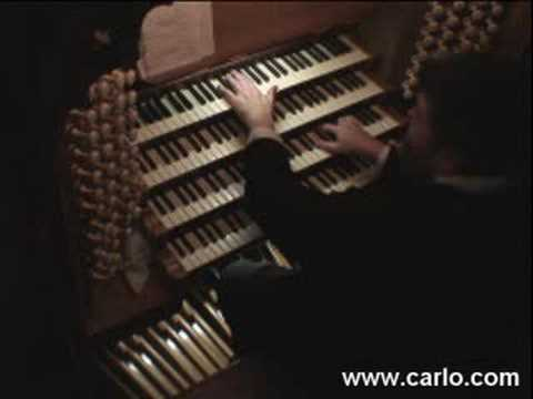 Carlo Curley at Chester Cathedral, England, Part 1/5
