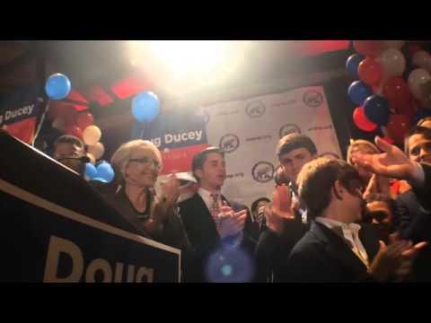 Raw Video: Arizona Governor Jan Brewer introduces hopeful successor Doug Ducey
