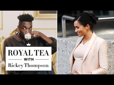 Everything You Need to Know About the Royal Baby—With Rickey Thompson | Royal Tea | Harper's BAZAAR